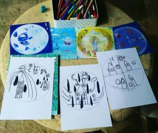 COACHING CREATIF ATELIER ENFANT ECRITURE INTUITIVE CREER SON HISTOIRE