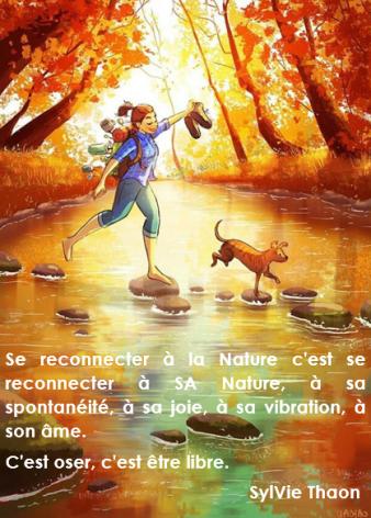 sortie nature pleine conscience var bien être coaching thaon sylvie âme joie famille