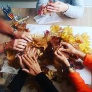 mandala créatif collectif sylvie thaon 5 sens atelier frejus saint raphael var art thérapie coaching par l'art créativité