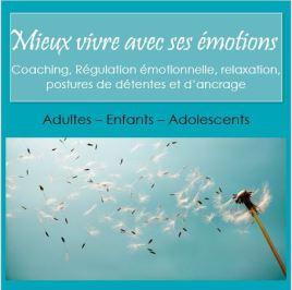 mieux vivre avec ses émotions régulation emotionnelle relaxation coaching sylvie thaon fréjus saint raphaël var internet