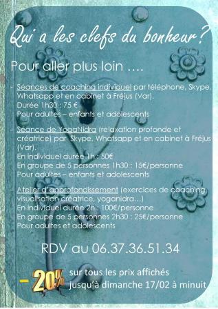Facebook live qui a les clefs du bonheur coaching développement personnel atelier consultation art thérapie yoganidra gts concept sylvie thaon fréjus saint raphaël var .jpg