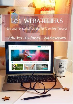 Les webateliers sylvie thaon gtsconcept centre téora émotion créativité développement personnel coaching spiritualité atellier adulte enfant adolscents
