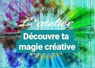 potentiel créatif découvre ta magie créative webatelier atelier parent enfant workshop art thérapie caching par l'art centre téora sylvie thaon coach