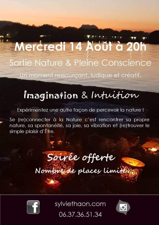 Nature pleine conscience intuition pleine lune rituel sylvie thaon energie coach de vie arttherapeute psychologue  coaching par l'art gtsconcept therapie breves