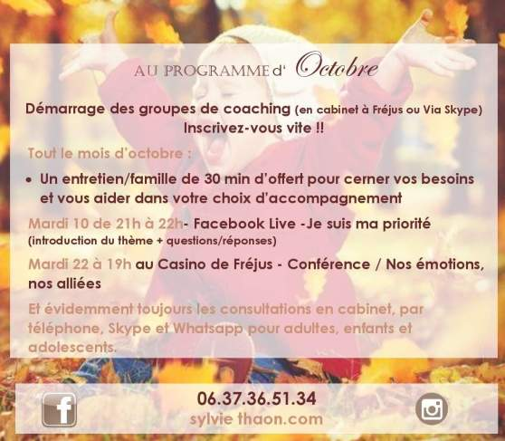 Tsp coaching sylvie thaon consultation groupe de coaching conference facebook live therapie breve coaching par l'art arttherapie psychologue  gtsconcept eft emdr pnl sophrologie frejus saint raphael draguignan var en ligne skype