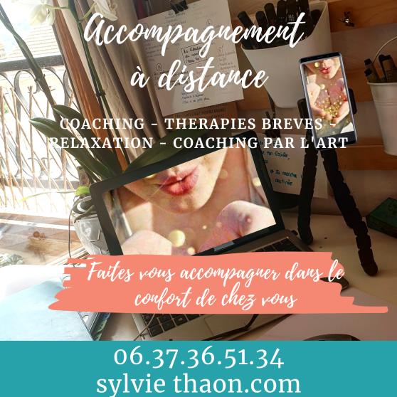Coaching therapie breve coaching par l'art arttherapie Relaxation emotion gtsconcept covid19 coronavirus angoisse peur stress conscience evolution enfant adulte sylvie thaon