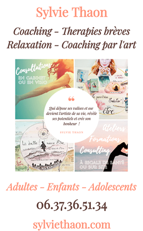 sylvie thaon coach thérapie vie gts concept art therapie coaching par l'art formation consultation visio frejus saint raphael cannes nice var emotion post traumatique atelier consulting
